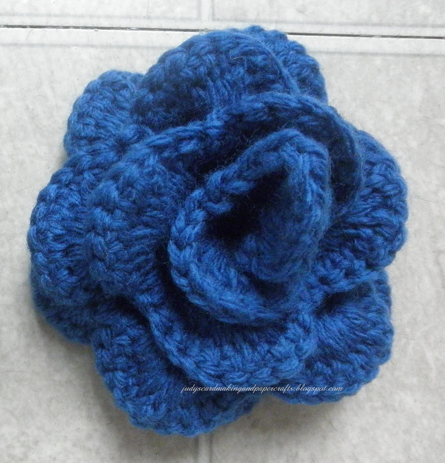 Site Crochet : crochet rose pattern this website is my favorite crochet site