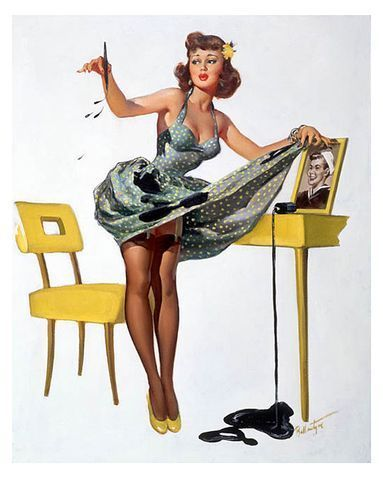 a brief history of pinup art