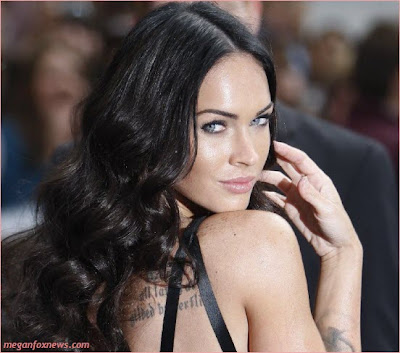 Megan Fox Tattoo Back Transformers. Megan