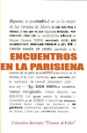 Encuentros en la Parisiena (2008) (Libro Colectivo)