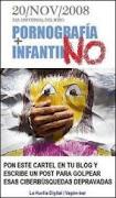 NO + PORNOGRAFIA INFANTIL