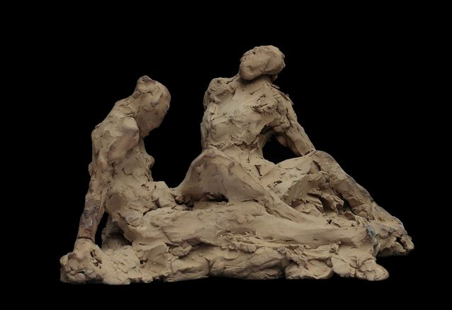 Beeldhouwkunst selectie van de beeldhouwwerken 2009 2010 - Bed dat gelederen ...