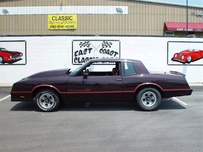 What size rims can I fit on my 1986 Monte Carlo SS without getting