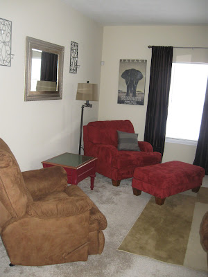 Simply inspired mom snowed in a little living room for Rearrange my room