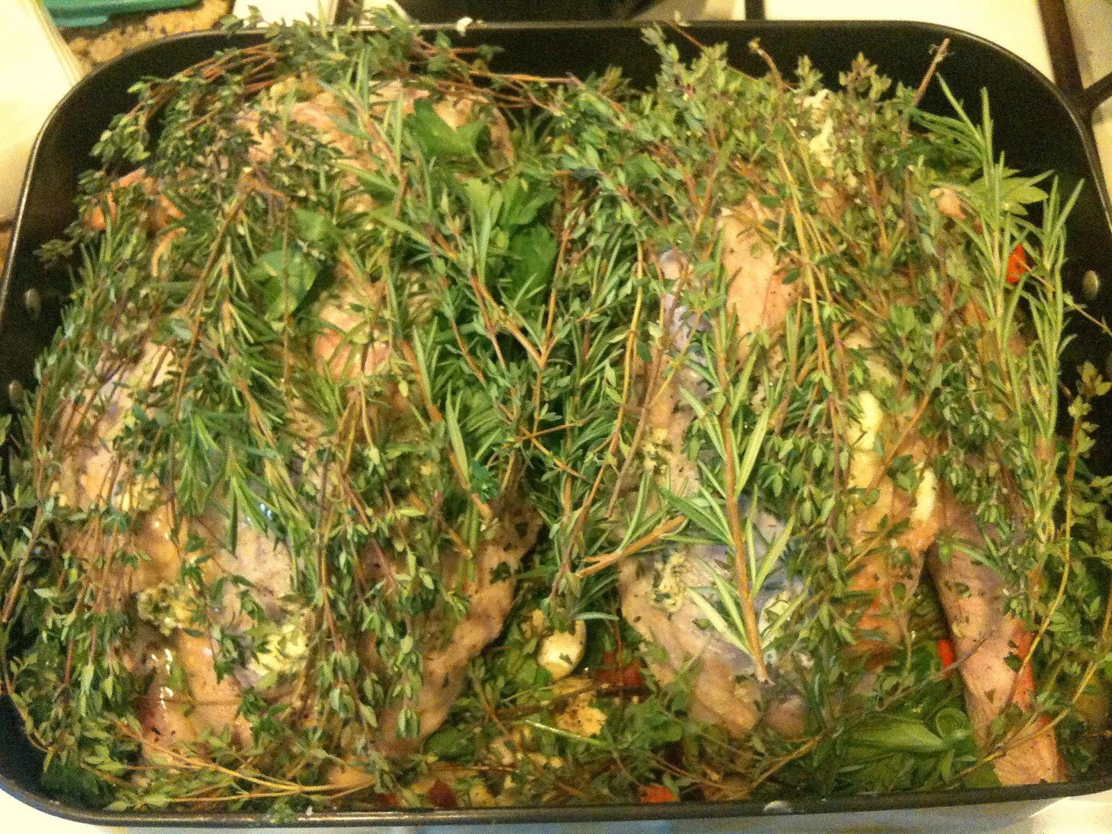 Charmcitycook Cooking turkey split in half