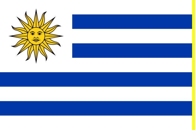 Bandera del Reyno Oriental del Uruguay