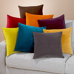 Savvy Young Something: Making Your Home Cushier, One Throw Pillow