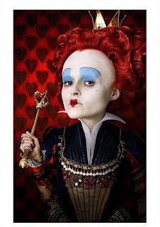Tim Burton, profile, Helen Bonham Carter, Alice in Wonderland