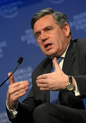 Gordon Brown, Rupert Murdoch, The Sun