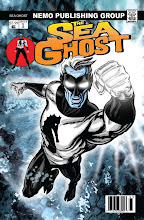 New!  Sea Ghost Comic Book