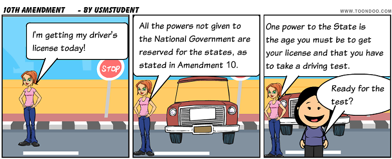Breaking Down the Constitution: Amendment 10: Powers of ...