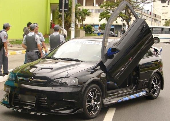 Carros Tunados Carros Tunados Astra Preto Preso Por Policia