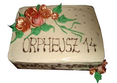 14. születésnapi torta