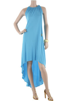 Milly Dress on Jersey Halter Dress