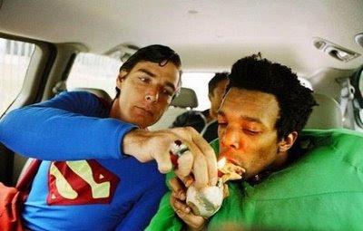 Супермен, казваш? Аз нали ти рекох, че тревата е чудесна?