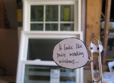 Installing Windows with Paperclip comments...