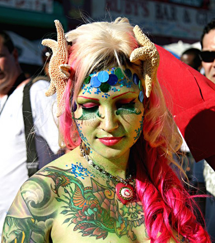 Coney Island Mermaid Parade, 2007 - Photos - Coney Island Mermaid ...