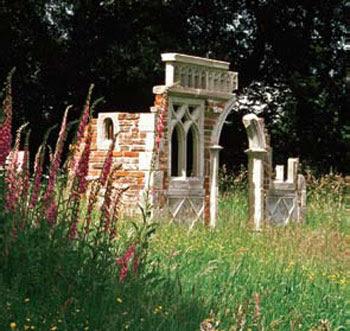 Romantic ruins september 2009 for Garden folly designs