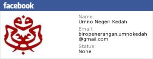 Facebook UMNO Kedah