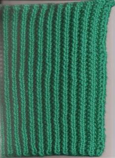 Reading A Knitting Pattern : Read Knitting Patterns: Read a Knitting Pattern for Mistake Stitch Rib