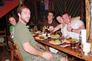 Dinner in Playa Chiquita