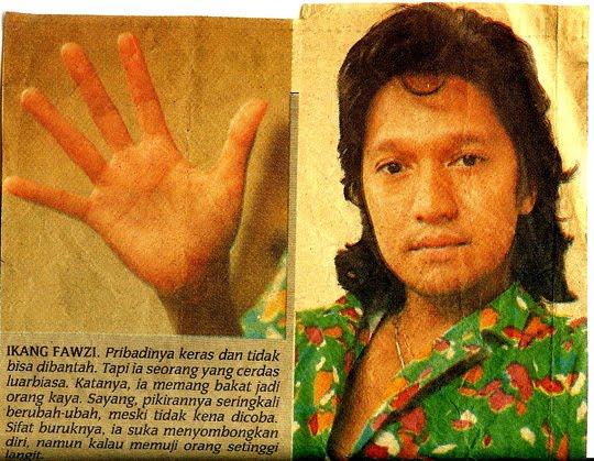 Karakter Seru Ikang Fawzi Suami Marissa