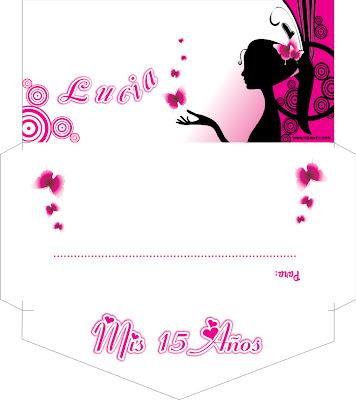 traigo un diseño de una tarjeta de 15 años en corel draw tipo sobre