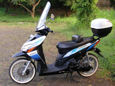 HONDA VARIO modification