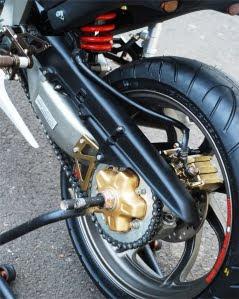 Modifikasi Honda Blade