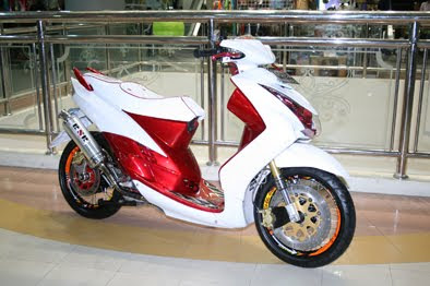 Tarakan Yamaha mio Modification
