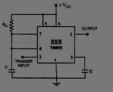 multivibrator monostable