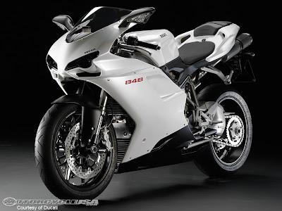 Ducati Superbike 848 Silver