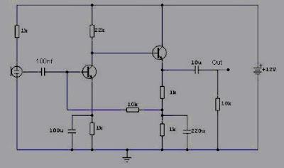 Pre-Amp mic condenser