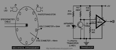 rangkaian speedometer digital