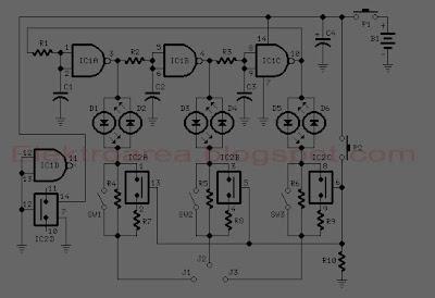 Basis-Collector-Emitter Transistor