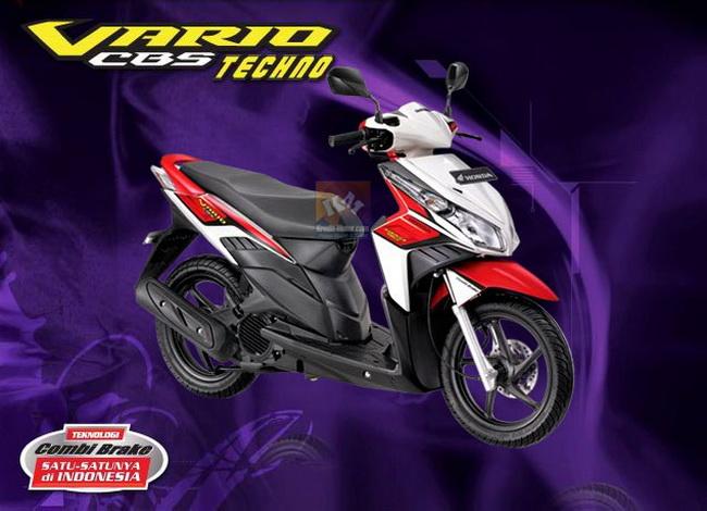 Spesifikasi|Gambar Honda Vario CBS Techno 2010