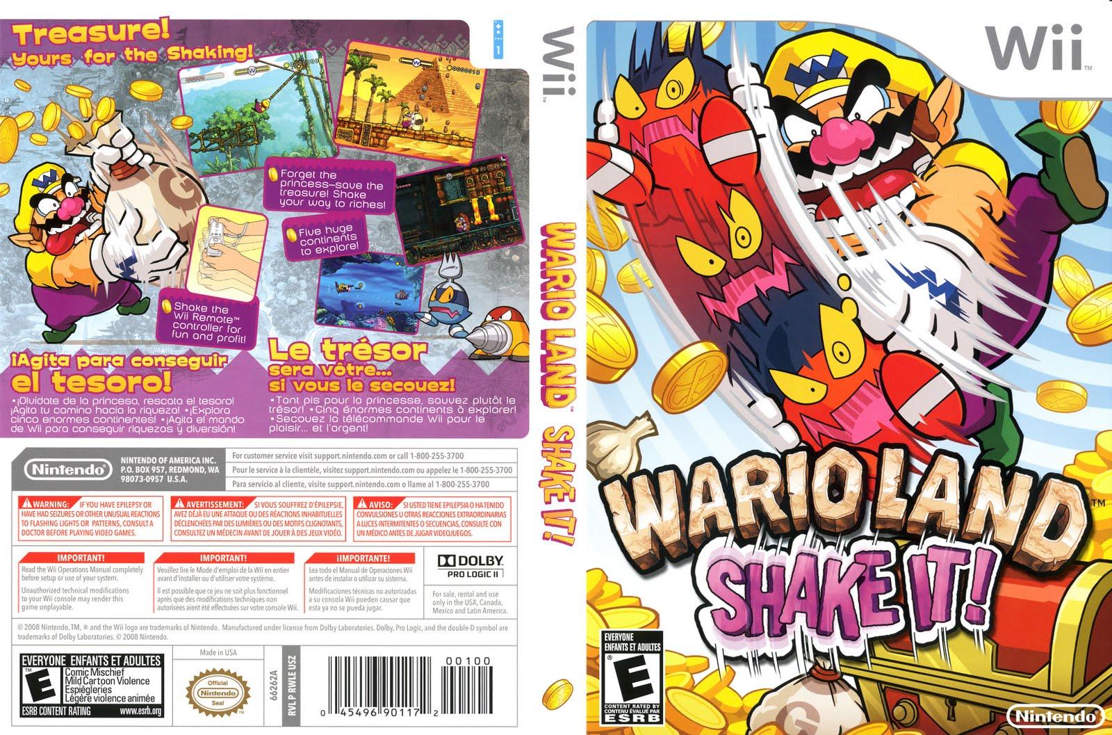 Wario Land Shake It - Wii