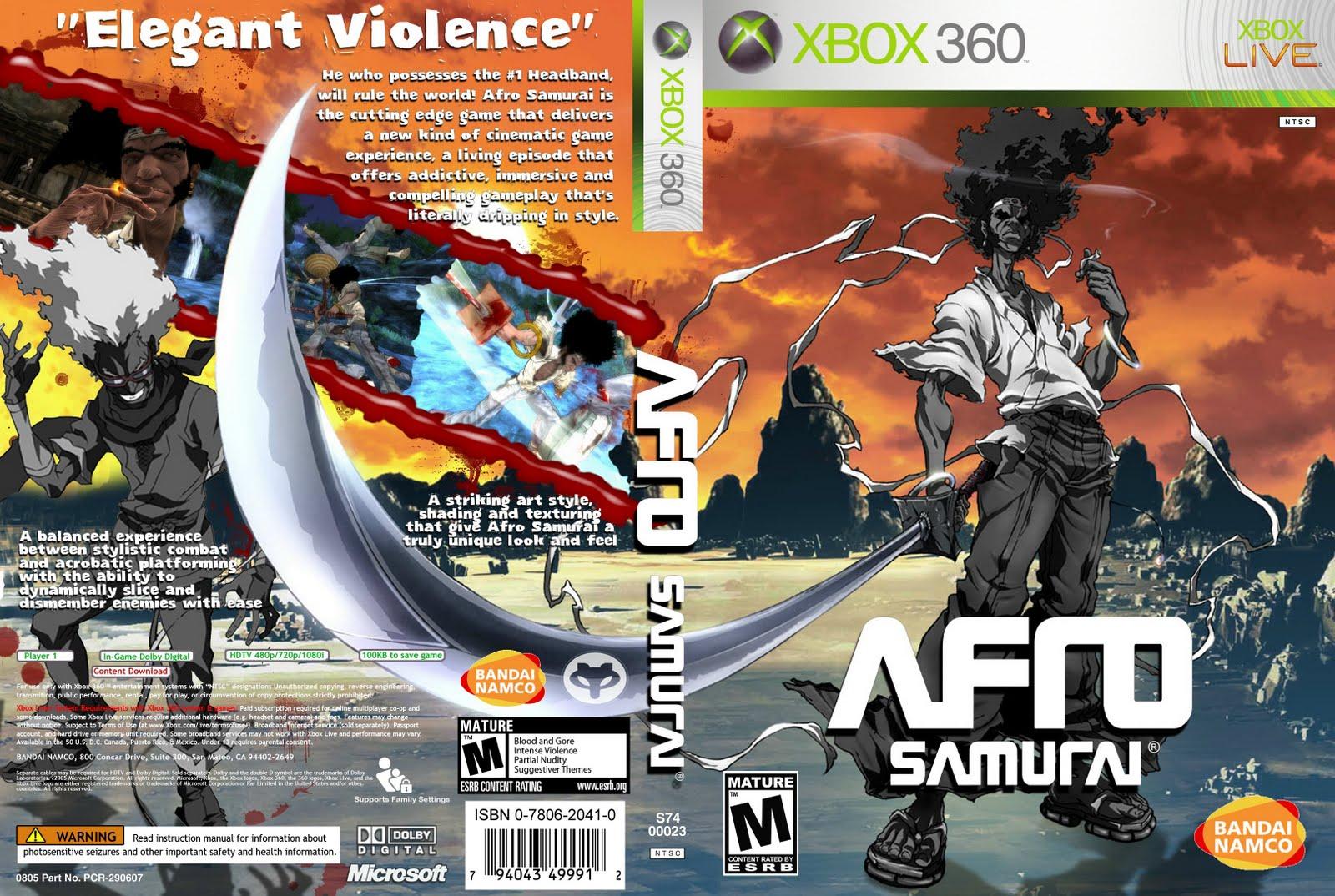 Afro Samurai - Custom - Xbox 360