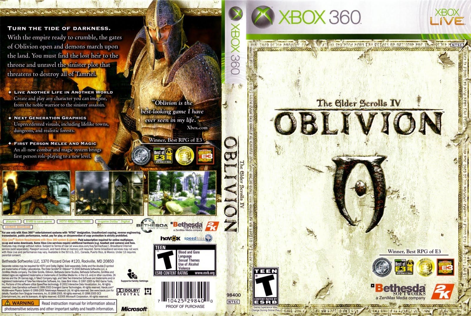 Xbox360 oblivion nude sexy tube