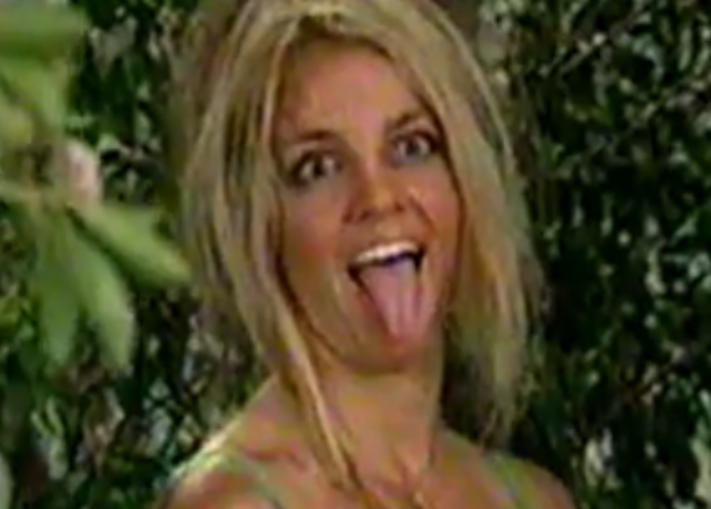 Britney your tongue is mine (a piece of me)