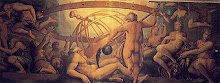 The Mutilation of Uranus by Saturn - by Giorgio Vasari