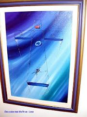 Cruz - Óleo sobre tela 50x70 cm
