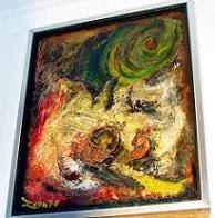 Alentejo - Óleo sobre painel 45x55 cm