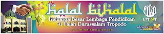 SMART Advertising: Spanduk halal BiHalal Keluarga Besar Lembaga ...