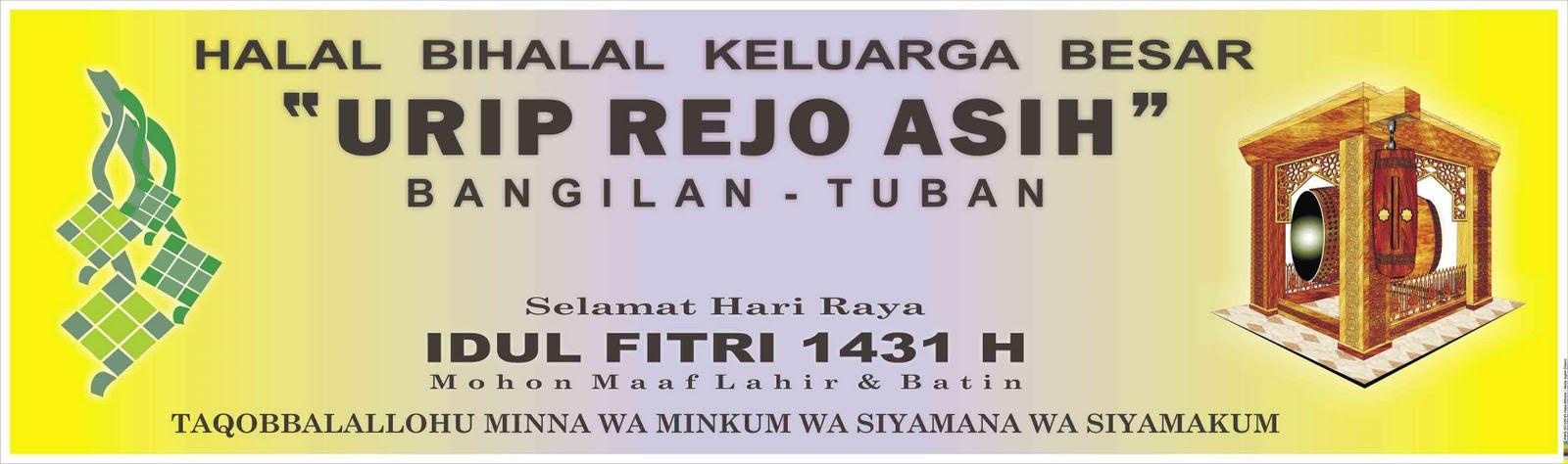 Download image Spanduk Halal Bihalal Keluarga Besar Urip Rejo Asih PC ...
