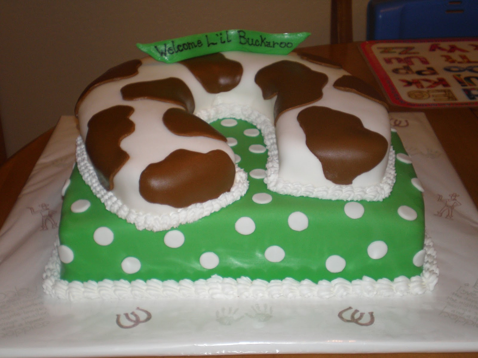 Creative Cakes By Moriah Western Baby Shower Cake