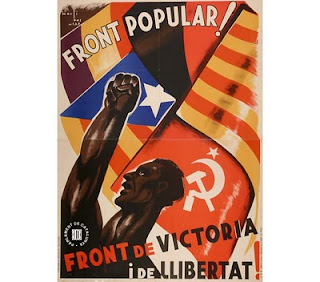 Crtel del Frente Popular en la II Reública