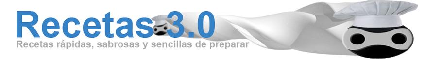Recetas 3.0