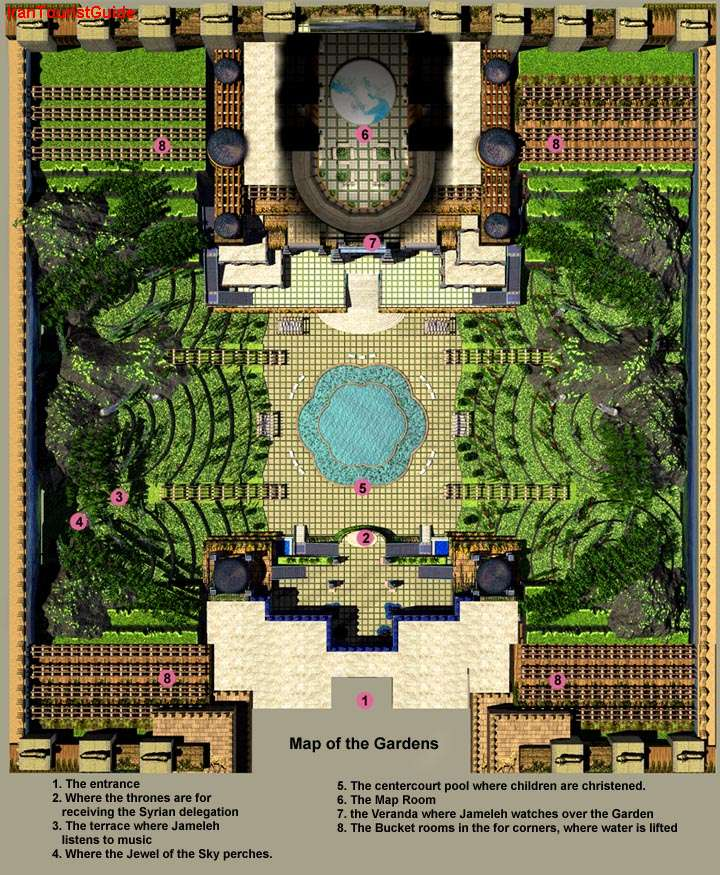 Hanging Gardens, Babylon.