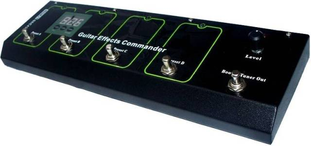 The Moen GEC Commander Switch Board